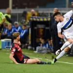 Genoa-Inter 1-0: un guizzo di De Maio spegne l'Inter, Icardi in blackout