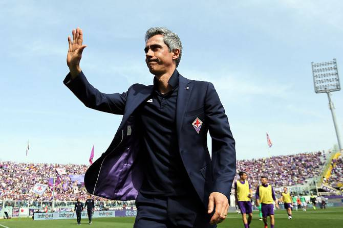 Paulo Sousa prende appunti durante Roma-Juventus: sarà lui il dopo Spalletti?