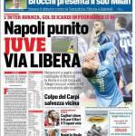 Rassegna Stampa: Corriere dello Sport – Napoli punito, Juve via libera