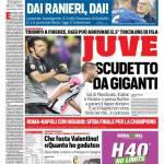 Corriere dello Sport – Juventus, Scudetto da giganti