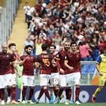 Roma-Chievo 3-0, voti e tabellino: Totti show alla 600° gara in Serie A