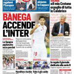 Corriere dello Sport – Banega accende l'Inter