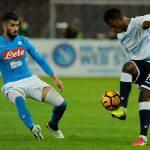 Napoli-Lazio 1-1: voti e tabellino, Keita risponde ad Hamsik