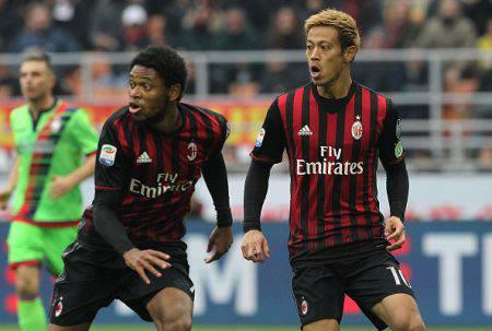 Milan, Luiz Adriano sul piede di partenza