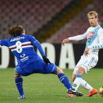 Serie A, Napoli-Sampdoria 2-1: voti e tabellino della sfida