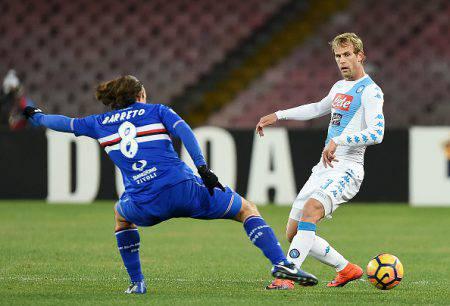 Voti Napoli-Sampdoria