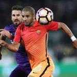 Roma – Fiorentina, le formazioni ufficiale: Salah in panchina