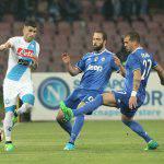 Voti Napoli-Juventus, vince Sarri ma passa Allegri: bianconeri in finale
