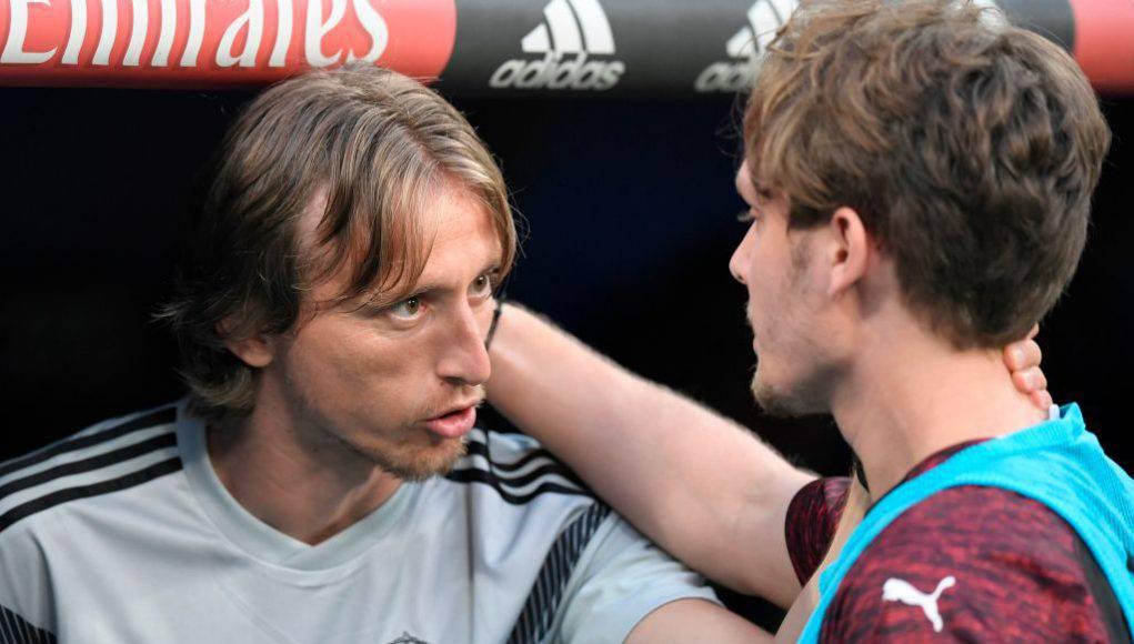Modric e Halilovic (Getty Images)