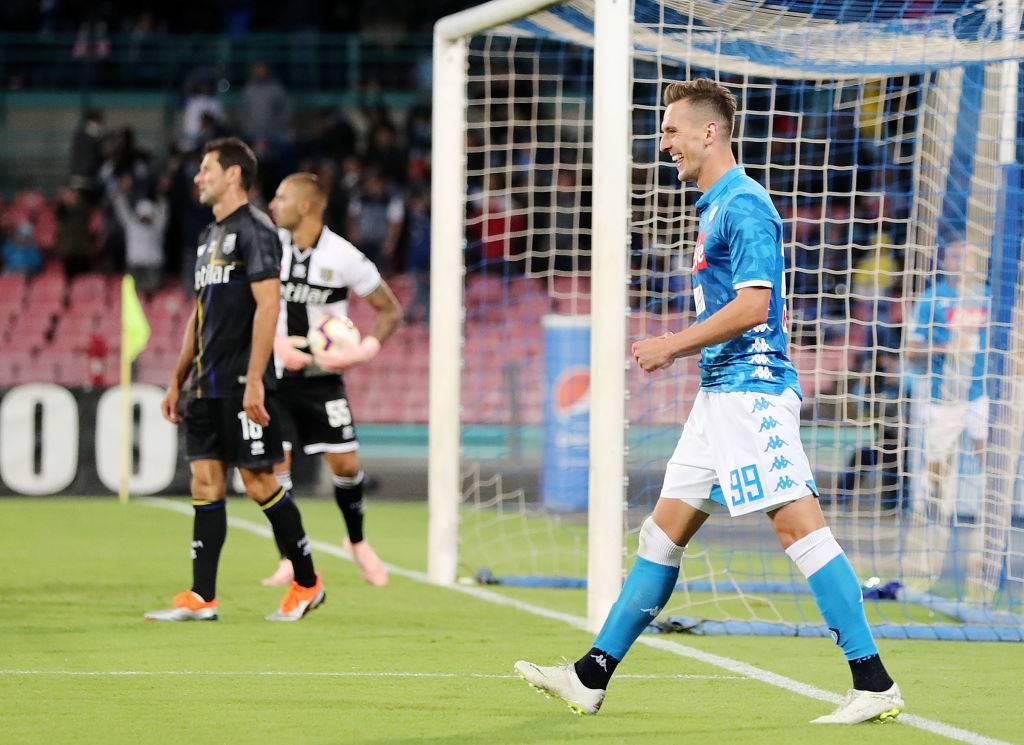 Milik calciomercato Napoli