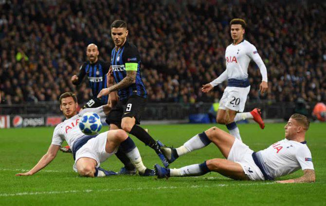 Alderweireld Vertonghen calciomercato Inter