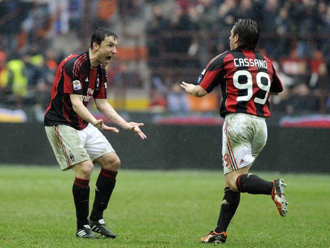 Cassano Van Bommel acquisti Milan gennaio