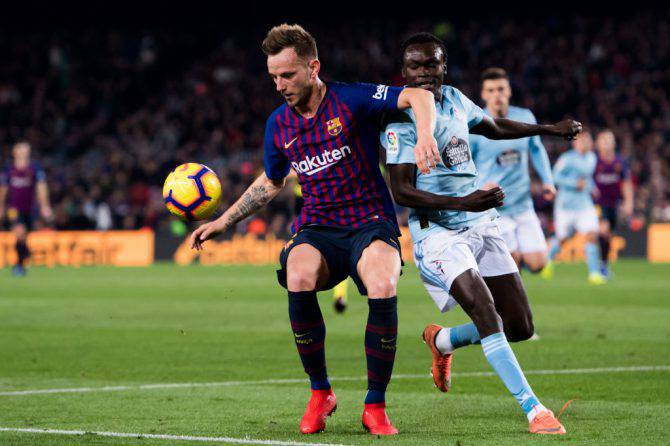 Rakitic Inter Napoli