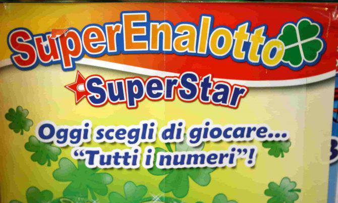 Estrazione Lotto 10eLotto Superenalotto