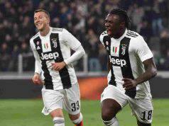 Kean Juventus calciomercato Milan