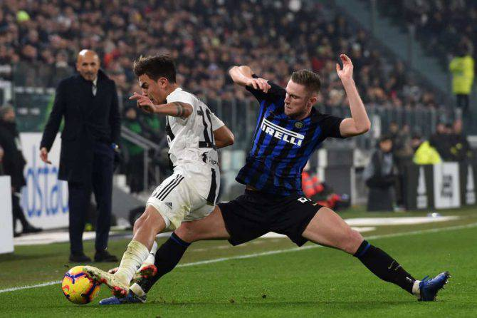 Inter Juventus Dybala Skriniar