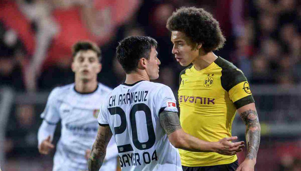 Aranguiz e Witsel Bayer Leverkusen Borussia Dortmund