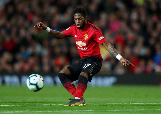 Fred Manchester United Roma