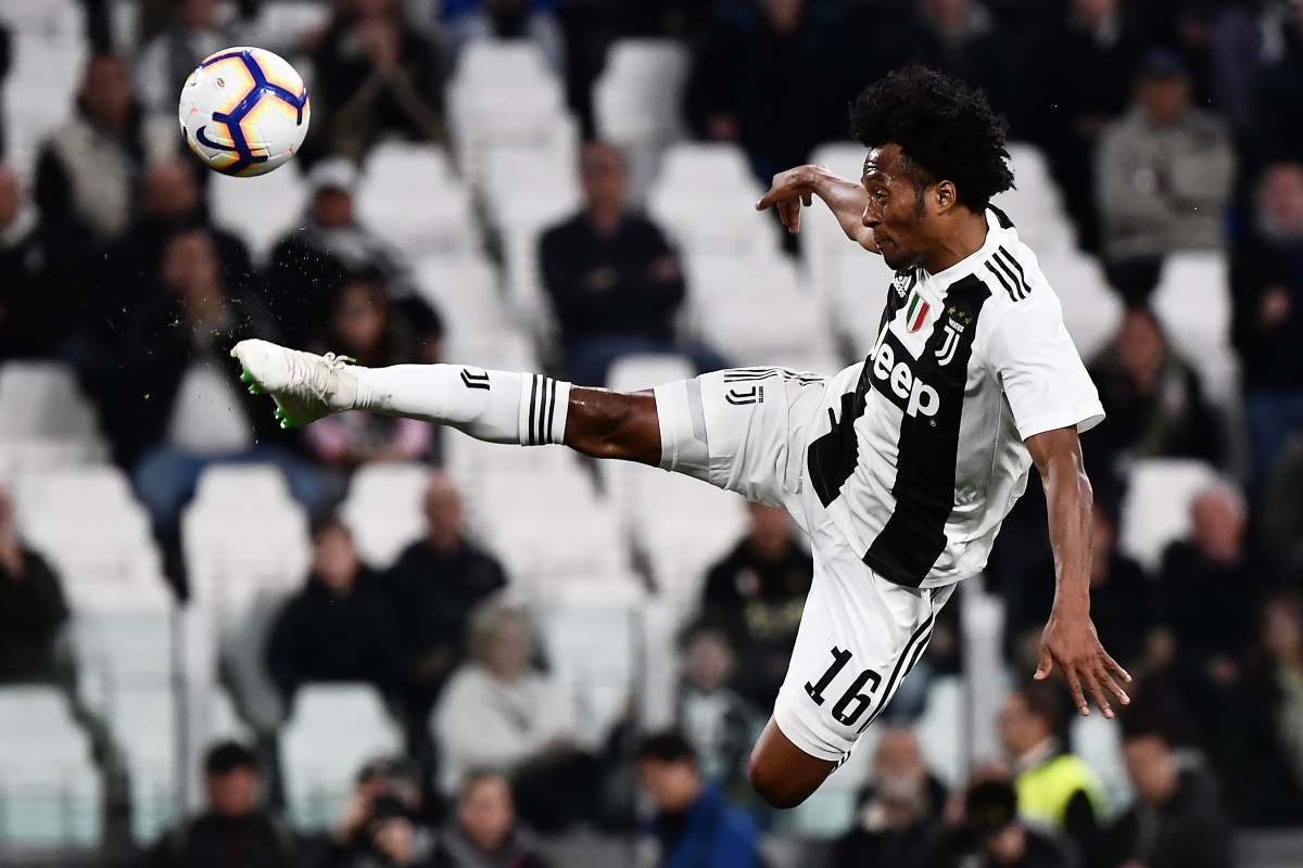 Juventus Cuadrado Roma Milan