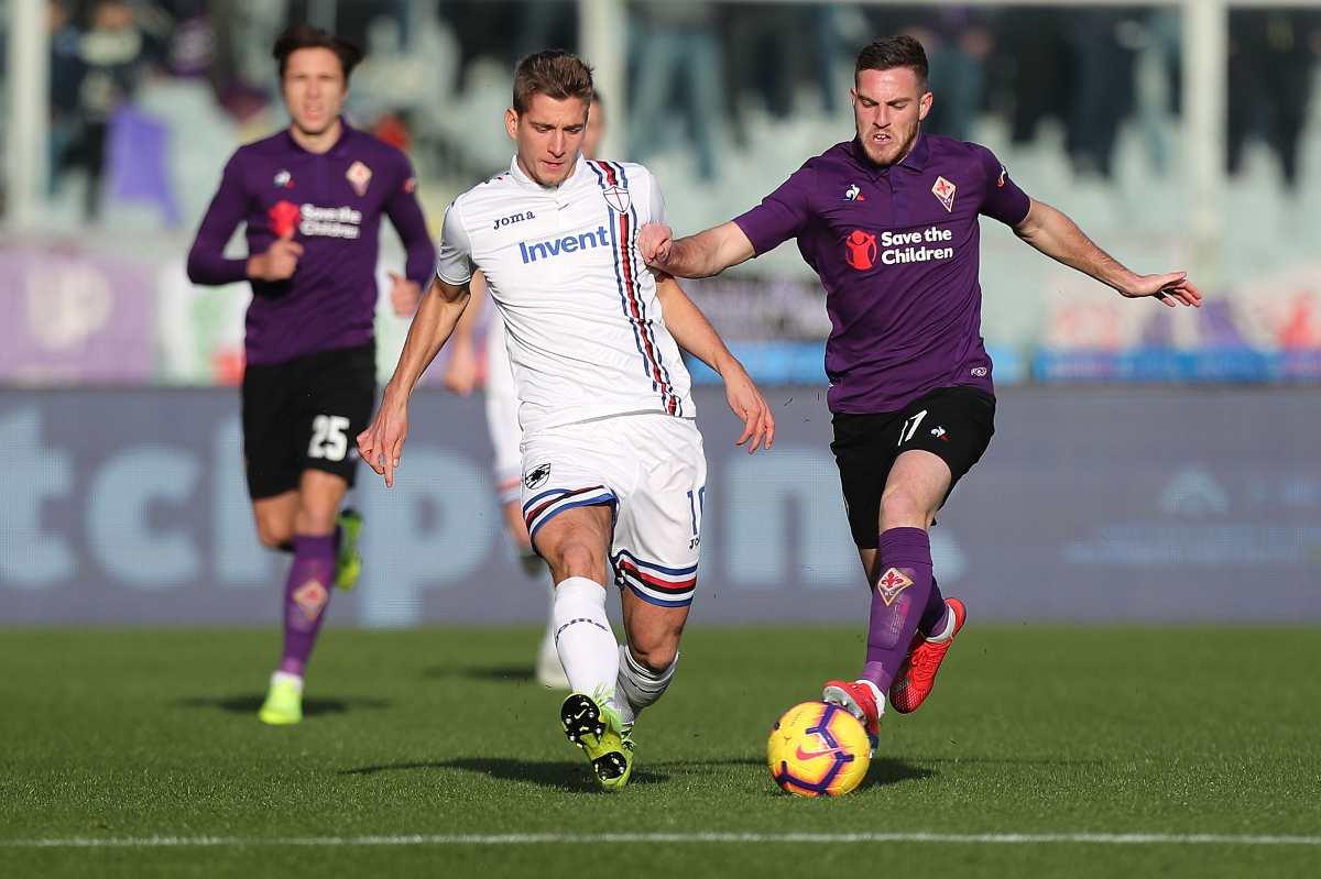 Milan Praet Sampdoria Valencia