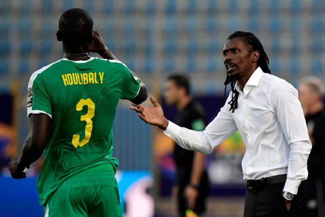 Aliou Cisse e Kalidou Koulibaly