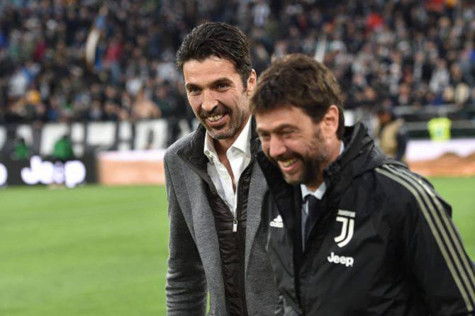 Gigi Buffon Juventus ritorno