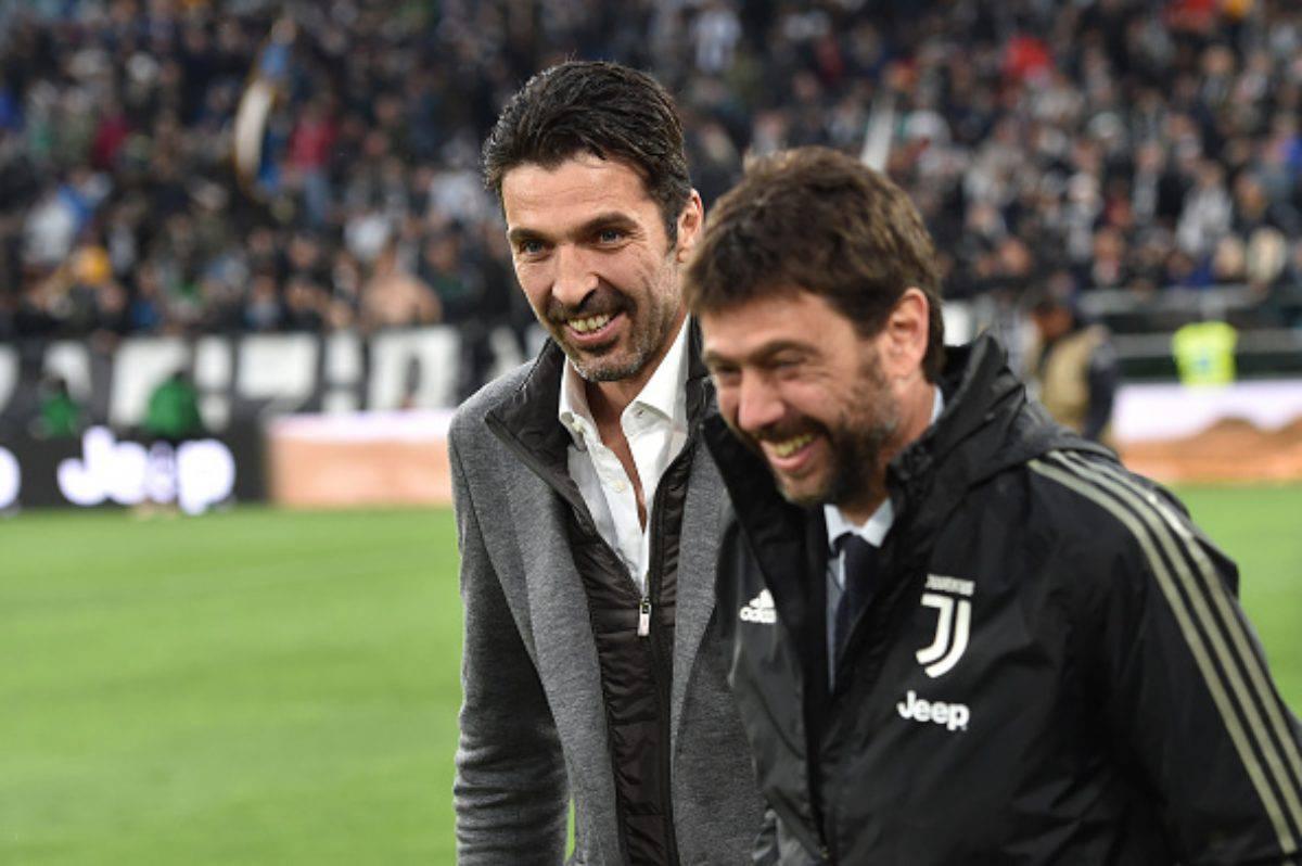 Calciomercato Juventus Buffon Agnelli