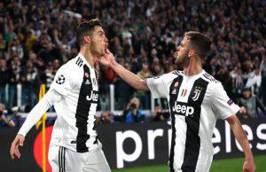 Ronaldo e Pjanic Juventus
