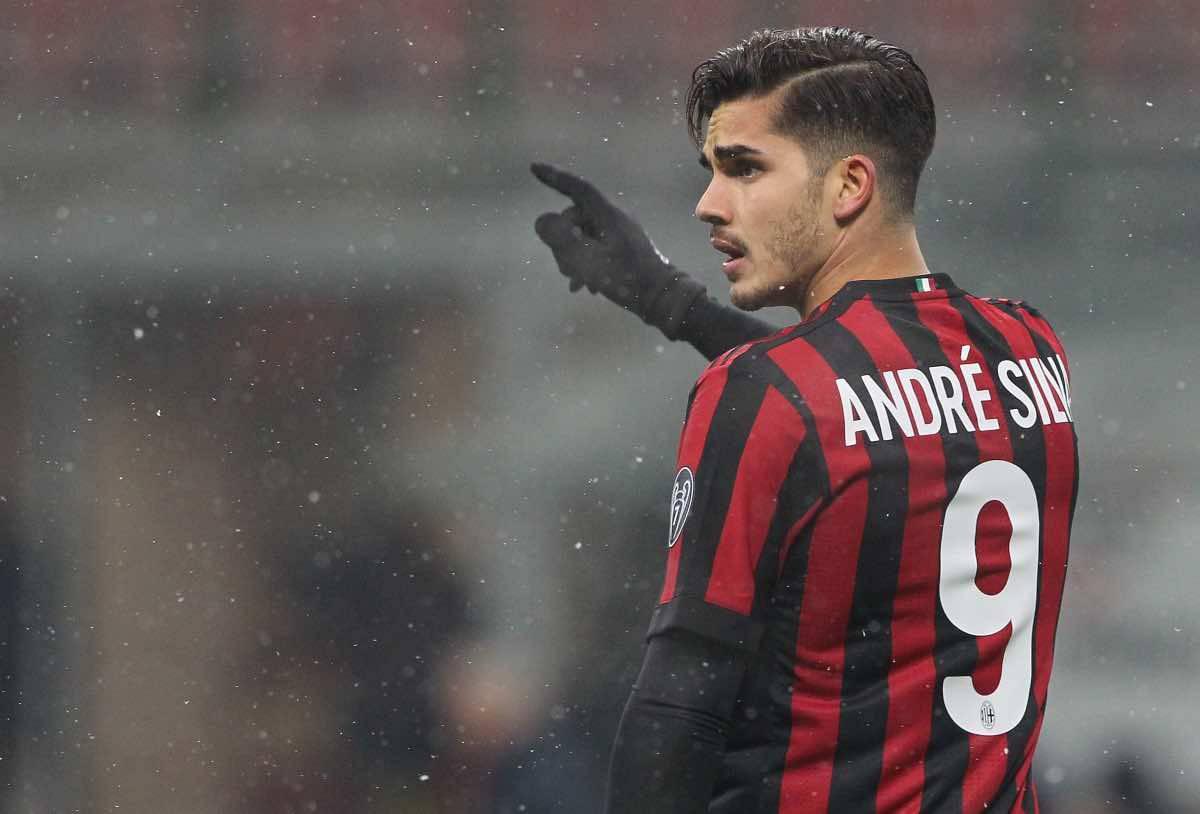 calciomercato Milan André Silva Schick Roma