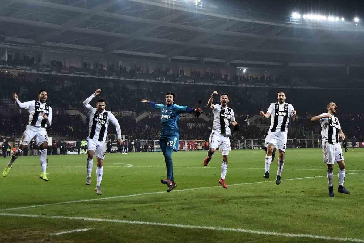 Emre Can Cristiano Ronaldo Mattia Perin Miralem Pjanic Giorgio Chiellini Leonardo Bonucci