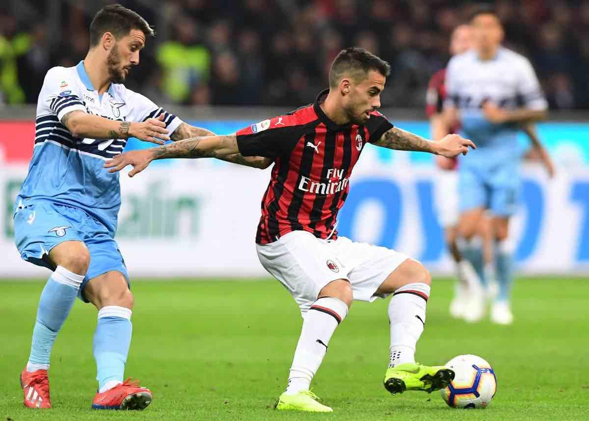 calciomercato Milan Suso Lione