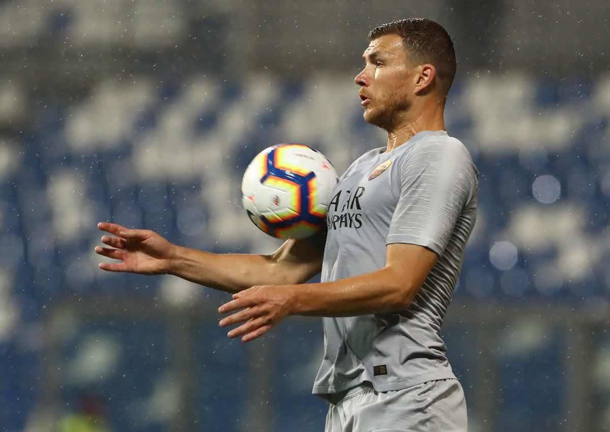 calciomercato Inter Dzeko Roma agente sede