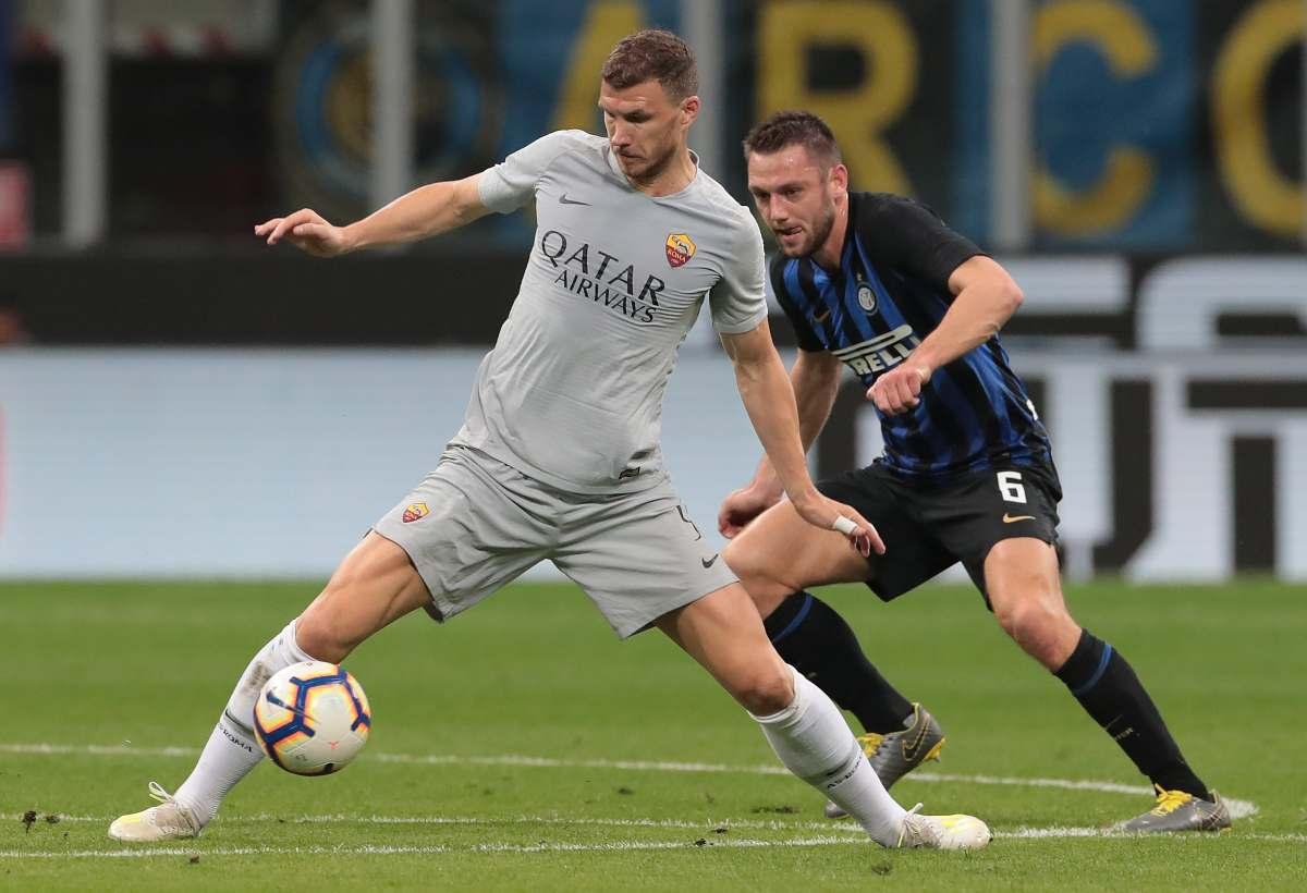 Inter Dzeko Roma