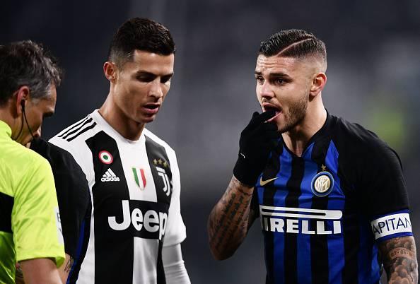 Mauro Icardi Cristiano Ronaldo Juventus (Getty Images)