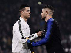 Mauro Icardi con Cristiano Ronaldo Juventus (Getty Images)