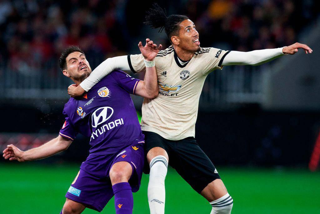 Smalling, nuovo difensore della Roma in arrivo dal Manchester United