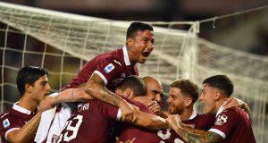 Torino esultanza Izzo