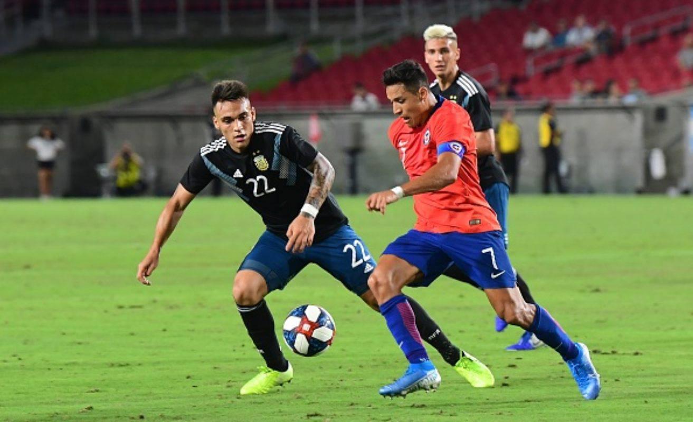 Alexis Sanchez Lautaro Martinez Inter (Getty Images)