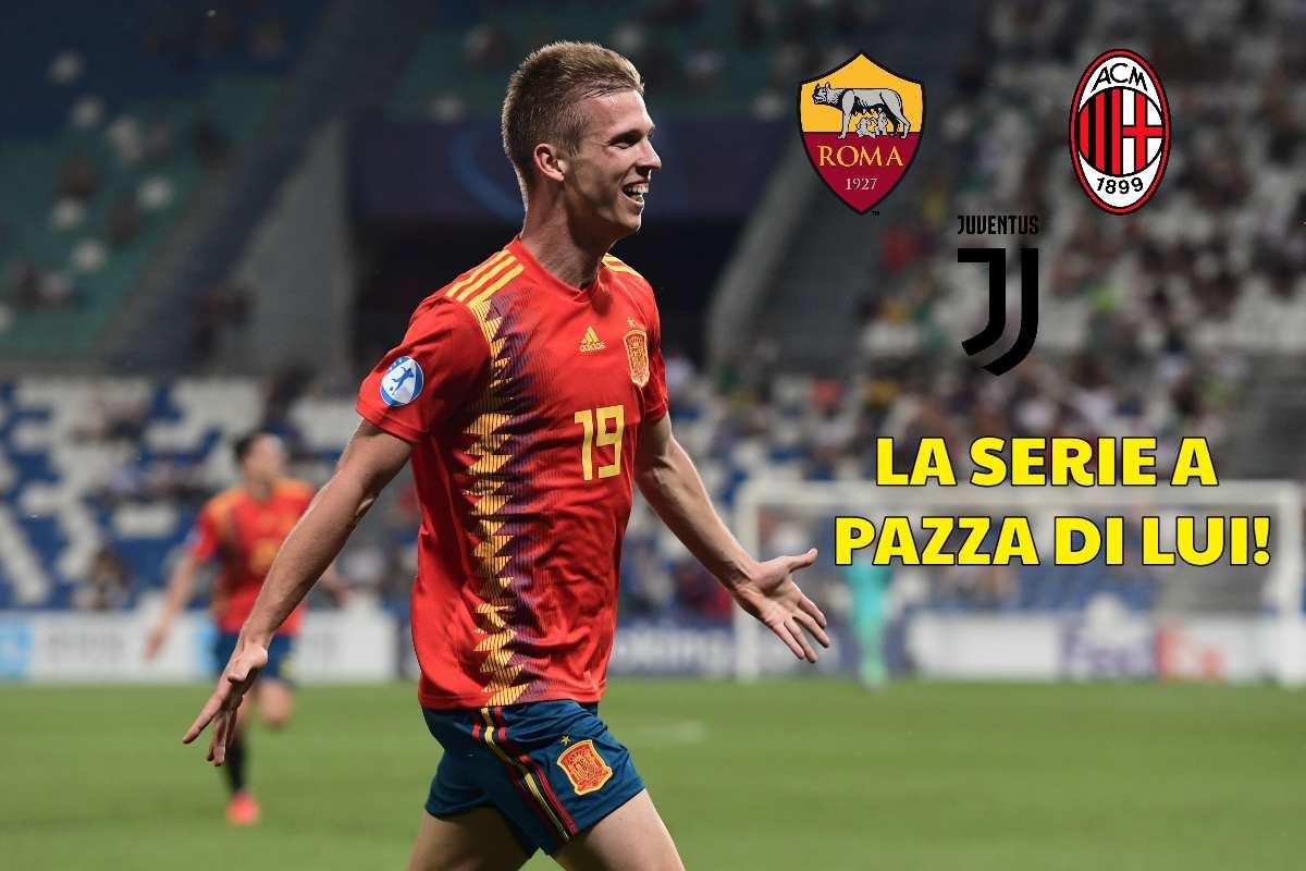 Dani Olmo, la Serie A pazza di lui