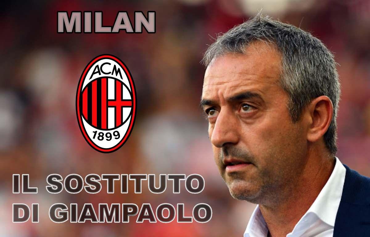 Milan, il sostituto di Giampaolo
