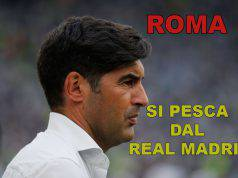 Roma, si pesca dal Real Madrid