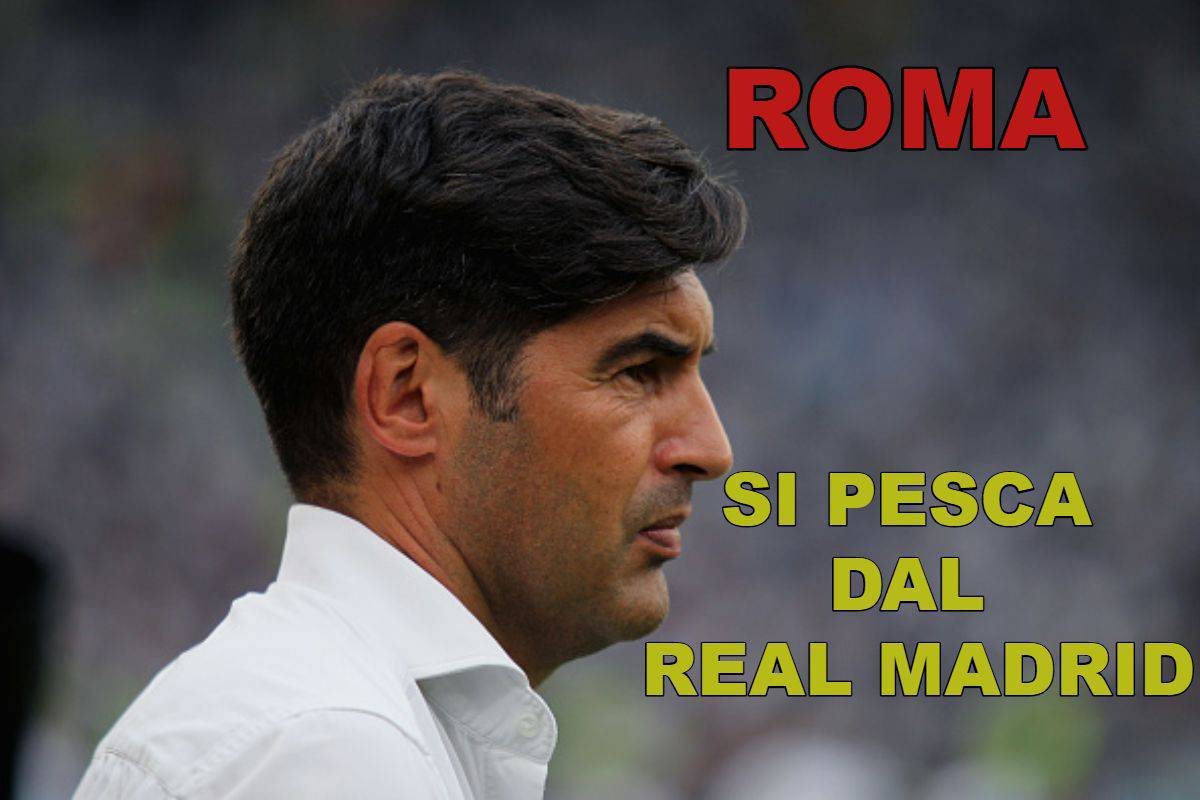 Roma, si pesca dal Real Madrid