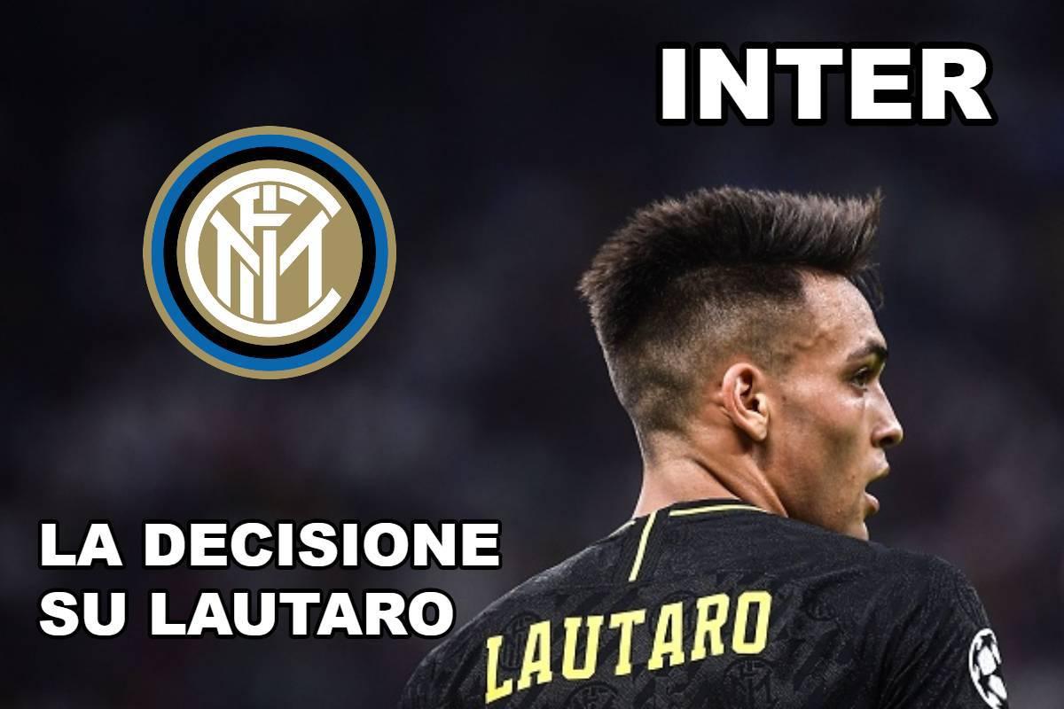 Inter, la decisione su Lautaro