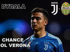 Dybala, chance col Verona