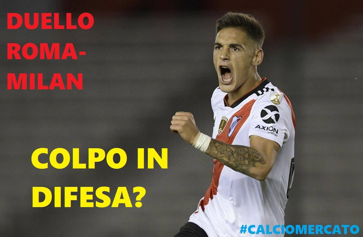 Calciomercato Roma Martinez Quarta