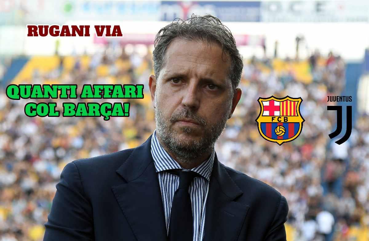 Paratici Juventus Barcellona Rugani