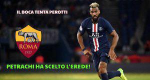 Roma, il Boca tenta Perotti: scelto Choupo-Moting