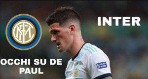 Inter, occhi su De Paul