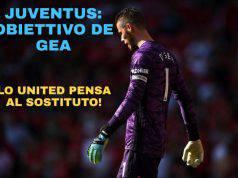 Juventus: obiettivo de Gea, lo United pensa al sostituto