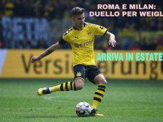 Roma e Milan: duello per Weigl, arriva in estate